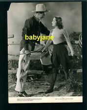 GARY COOPER MERLE OBERON VINTAGE 7X9 PHOTO 1938 THE COWBOY AND THE LADY