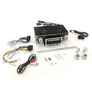 1964 - 1966 Mustang Radio USA-740 300 Watt with Bluetooth - Custom Autosound