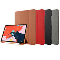 """Smart Case Cover For Apple iPad Pro 12.9"""" 3rd Gen 2018 Auto Sleep Wake Cover"""