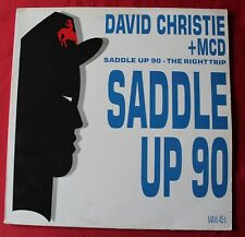 David Christie + MCD, saddle up 90, Maxi Vinyl