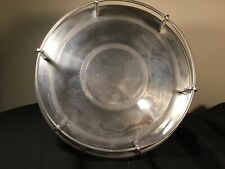 Tray Round Pottery Barn Speakeasy Collection Silver