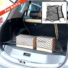 Custom Fit For 13-17 Toyota RAV4 Rear Trunk Floor Net Cargo Mesh Luggage Elastic