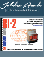 NEW! AMI / ROWE RI-2 Service and Parts Manuals In English, Portuguese and German