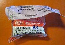 original KIA,9333007550EQ,Schalter f.Sitzheizung,Sitzheizungsschalter,