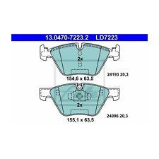 ATE 13.0470-7223.2 Bremsbelagsatz, Scheibenbremse ATE Ceramic   für BMW 1er