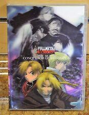 Fullmetal Alchemist: The Movie Conqueror of Shamballa (DVD) 3D Hologram w/ Book