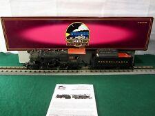 MTH Premier 20-3055-1 PRR 2-8-0 H10s Consolidation Steam En Proto 2 Used Ogauge