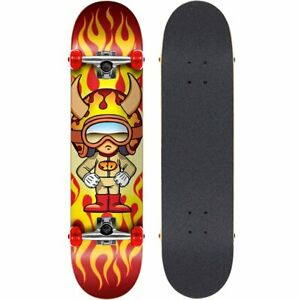 """Speed Demons Zion Factory Complet Skateboard Rouge Blanc 7.5/"""""""