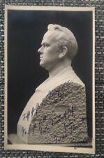Alfred Kase originale con firma autografo mappa, opera, classico, 1921, Lipsia