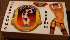 playing cards beer Russisch erotik pin up girls Kartenspiel nude label 1