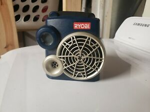 Ryobi 18V P740 FM Radio with Auxiliary Input. Tool Only No Battery TESTED WORKS