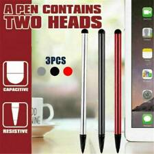 UK 2 in 1 Capacitive Touch Screen Stylus Pen for iPad iPhone Samsung Universal
