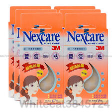 3M NEXCARE ACNE DRESSING PIMPLE STICKERS PATCH COMBO 36PCS (6X PACKS)