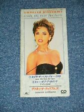 """VANESSA WILLIAMS Japan Only 1991 Tall 3"""" inch CD Single SAVE THE BEST FOR LAS"""