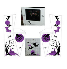 1972 Midway Haunted House Shooting Gallery Decal Set Complete!!!