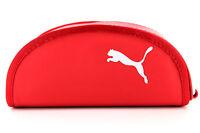 Puma Brillenetui in Rot mit Putztuch