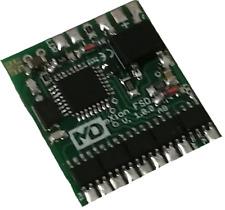 MD mXion FSD DCC 8-Kanal Decoder viele Funktionen, Servo, LGB, H0, Massoth