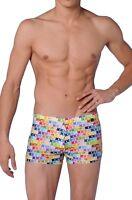 HOM beach fun Miami fish multi colour swimming trunks shorts beach