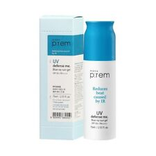 MAKE P:REM UV Defense Me. Blue Ray Sun Gel SPF 50+ PA++++ 75ml - USA Seller
