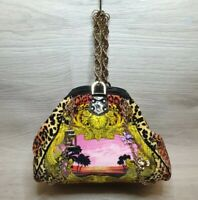 Versace for H&M Special Edition Bag Animal Print Chains Miami beach baroque