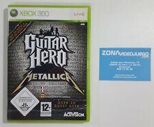Caja Vacia Guitar Hero Metallica, Xbox 360, Pal-eur, NO LLEVA EL JUEGO