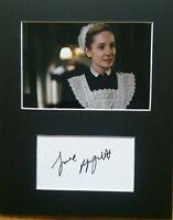 Joanne Froggatt 'Downton Abbey', hand signed mounted autograph.