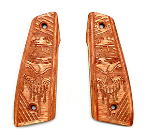 MASTERSCONI SCONI CONTRACT KILLER PAINTBALL WOOD GRIPS 45