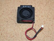 Chipset Ic Blower 5Vdc 2-Pin Connector G9922 Black Self Adhesive Mounting New