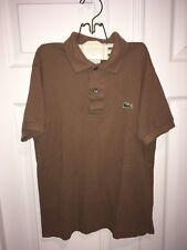 Lacoste Pique classic Polo Short Sleeve Logo Shirt Kids Boy Girl size 2 EU 34