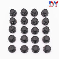 20 Pcs Black Lug Nut Covers Cap Fit for Chevrolet S10 Blazer GMC Jimmy Sonama