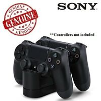 Twin PS4 Dualshock Controller Charging Station Dock Stand Sony Playstation 4 PS4