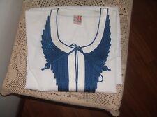 vestito lungo egiziano bianco