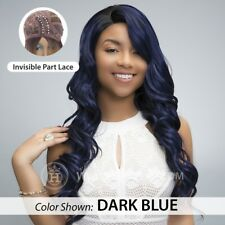 100% HUMAN HAIR BLEND LABELLA FRONT LACE ZARINA WIG - LACE FRONT WIG