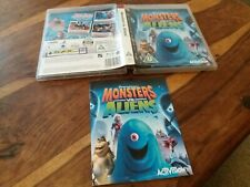 REPLACEMENT CASE/INSTRUCTIONS For Monsters Vs Aliens NO GAME on Sony PS3 Versus