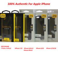 New OEM Otterbox Symmetry Case For iPhone 7/8 PLUS 7 8 6S 6 PLUS 6/6S & 5/5S/SE
