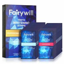 Fairywill Teeth Whitening Strips Pack Of 50 Pcs Strips, Professional And Express