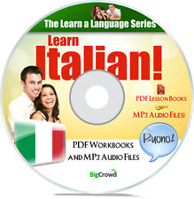 Learn To How Speak Italian Language Course Audio MP3 & PDF eBooks on Data DVD