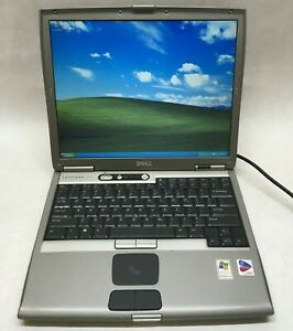Dell Latitude D600 Pentium M 1.40GHz 1GB RAM 30GB HDD Windows XP Parallel Port