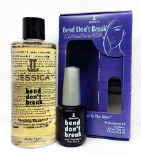 Jessica Nail Treatment-BEND DON'T BREAK Bonding Base- 120ml Refill & 15ml Bottle