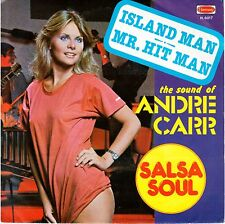 "ANDRE CARR   ""Island man - Mr. Hit man""   45 GIRI  1976  NEW"