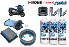 Pack Vidange Filtres Air/Huile Polini Bougies Huile Ipone Yamaha Tmax 530 2012->