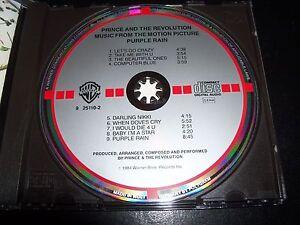 Prince Purple Rain Rare West German Target CD