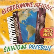 Akordeonowe melodie - swiatowe przeboje (CD 3 disc)  NEW