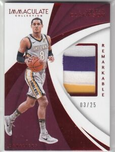 2017-18 Panini Immaculate Jordan Clarkson Remarkable Patch /25