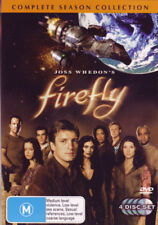 """FIREFLY COMPLETE SERIES COLLECTION DVD BOX SET 4 DISCS R4 AUSTRALIA """"NEW&SEALED"""""""