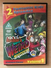 archie's Weird Mysteries vol.1 ~ 1999 Animación CULTO INFANTIL SERIE DE TV GB