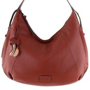 RADLEY RED LEATHER HANDBAG SHOULDER TOTE HOBO BAG LARGE!!! RRP £189!!! NEW!!!