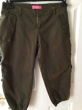 Ladies Funky  Army Pants Size 30