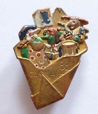 1988 Switzerland Fasnacht Carnival Badge Pin