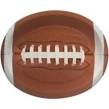 Touchdown Time 12 Inch Oval Plates 8 Pack Football Birthday Party Decorations